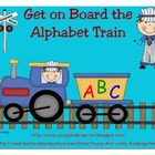Alphabet Train Cars