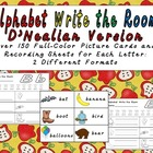 Alphabet Write the Room- D'NEAILAN VERSION: Preschool or K