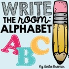 Alphabet Write the Room Pack