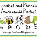 Alphabet and Phonemic Awareness Packet
