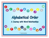 Alphabetical Order A Journey with Word Relationships