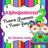 Alphapalooza 2  Phonemic Awareness & Phonics Fun