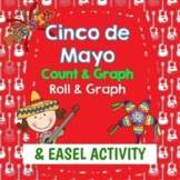 Always Free Cinco de Mayo Count and Graph and Roll and Graph