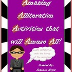 Amazing Alliteration Activities