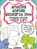 Amazing Animal Report Research Unit