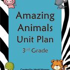 Amazing Animals Unit Plan