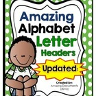 Amazing Polka Dot - Alphabet Letters - {FREEBIE}