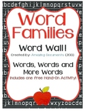 Amazing Word Families - Word Wall