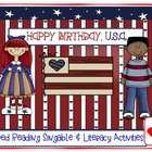 America Celebrates - Happy Birthday, U.S.A.! A Shared Read
