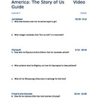 "America the Story of Us - Episode 1: ""Rebels"" Viewing Guide"