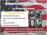 American Literature in Historical Context