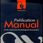American Psychological Association Publication Manuel