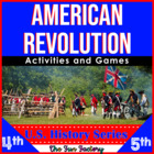 American Revolution, 4th, 5th and 6th Grades!