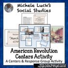 American Revolution Centers Investigation & Project Assign