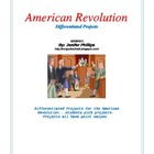 American Revolution: Differentiated Projects