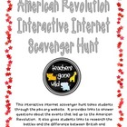 American Revolution Internet Scavenger Hunt