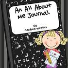 An All About Me Journal