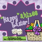"An Easter Dice Game (""Happy""ahtzee Easter!)"