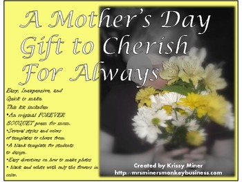 An Easy, Inexpensive and Memorable Mother's Day Gift for k