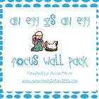 An Egg is An Egg Focus Wall Pack