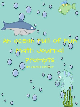 An Ocean Full of Fun Math Journal Prompts