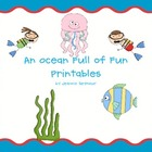 An Ocean Full of Fun Printables