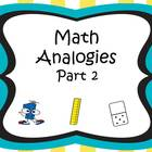 Analogies Part 2 CCSS