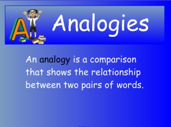 Analogy Expert Smartboard Notebook File