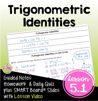 Analytic Trigonometry Lesson 1: Fundamental Identities