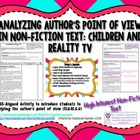 Analyzing Author's Point of View in Non-Fiction Text: Chil