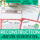 Reconstruction! Lesson: Analyzing Reconstruction Museum Walk