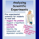 Analyzing Scientific Experiments - Practice Sheets