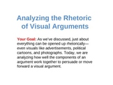 Analyzing Visual Arguments