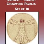 Anatomy Biology Crossword Puzzles Set of 10