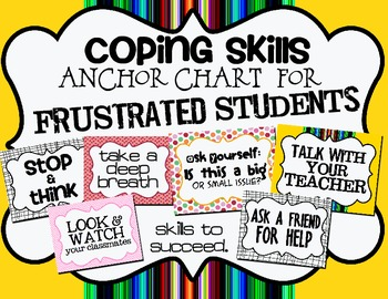 Anchor Chart:  Coping Skills & Strategies for Frustration