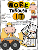 Anchor Charts for Working Through Comprehension in Informa