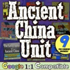 Ancient China Unit:  Geography, Settlements, the Dynasties