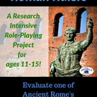 Ancient Civilizations - Rome - Roman Rulers Research Proje