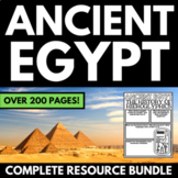 Ancient Egypt: Complete Interactive Notebook Unit with Fol