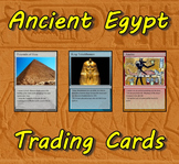 Ancient Egypt Trading Cards (Egyptian History)