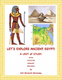 Egypti:Unit with notes, web quest,activites and resources
