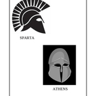 Ancient Greece: Athens and Sparta Comparison Worksheet
