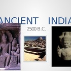 Ancient India Powerpoint, Notetaking page with preview