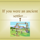 Ancient Settlements - Interactive PowerPoint