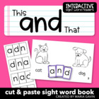 "Interactive Sight Word Reader - ""This and That"""