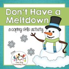 Anger and Stress Snowman Activity