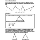 Angle Sum Property of Triangles (Lesson 34 of 61)