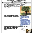 Animal Acrostic Poem Activity with a Native American theme