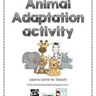 Animal Adaptation Activity