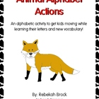 Animal Alphabet Actions:  Move Like the Animals--From Ambl